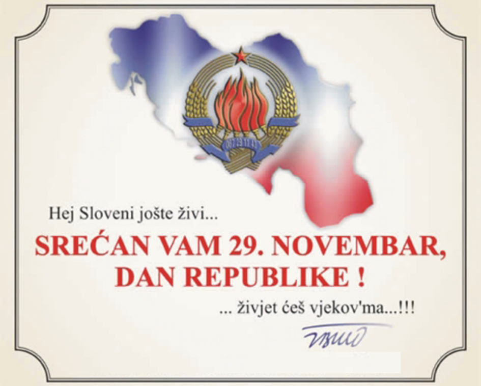 Remembering 29 November, Dan Republike (Republic Day)