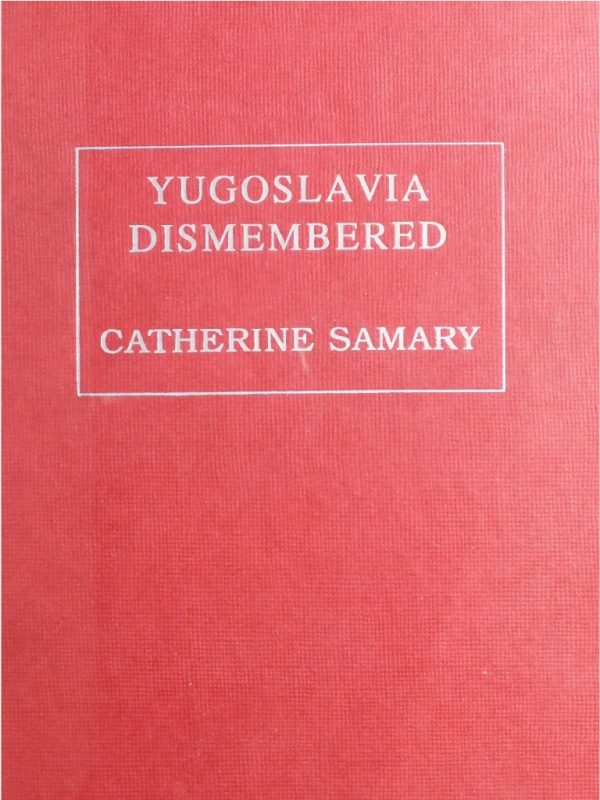 Yugoslavia Dismembered cover