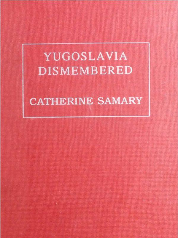 Yugoslavia Dismembered cover
