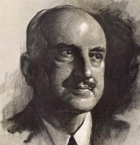 George Santayana by Samuel Johnson Woolf