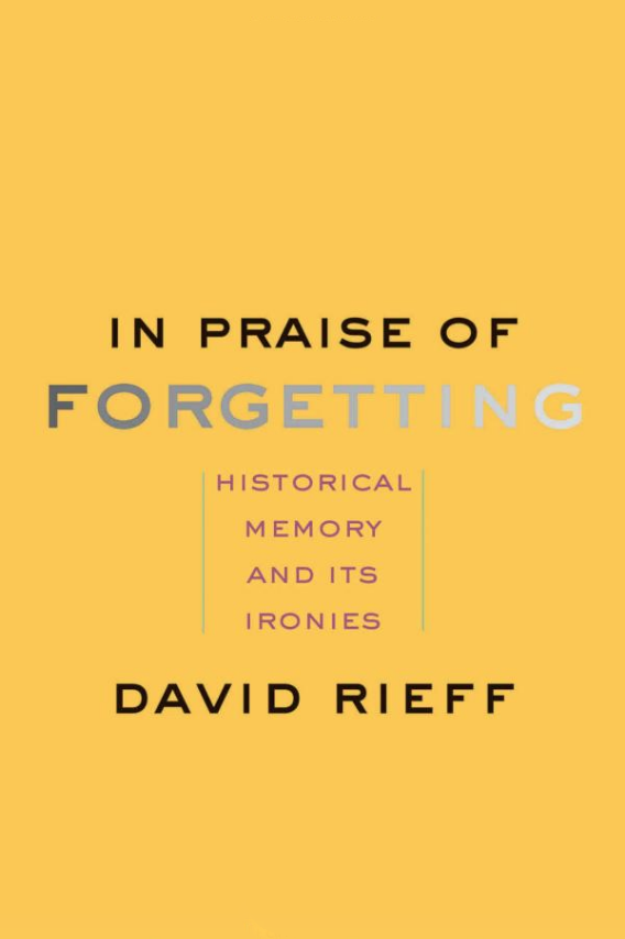 In Praise of Forgetting - Cover