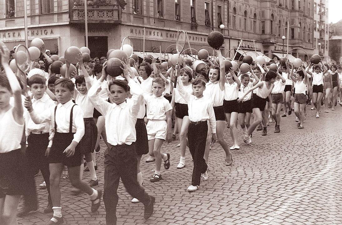 Dan mladosti v Mariboru 1961