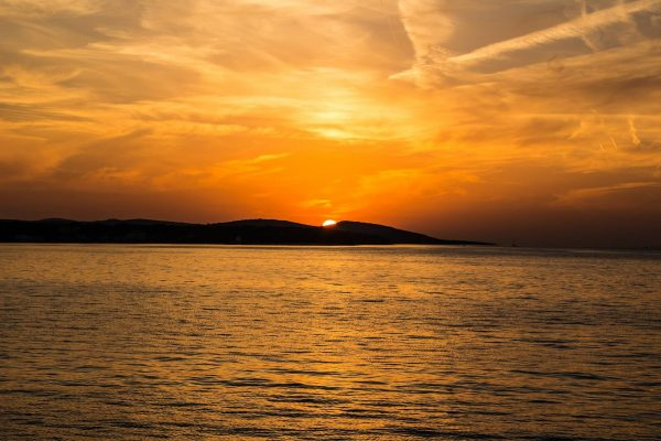 Sunset in Croatia
