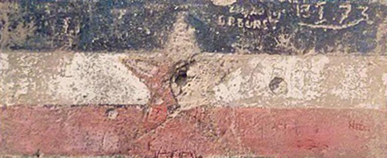 Yugoslav Flag on Wall