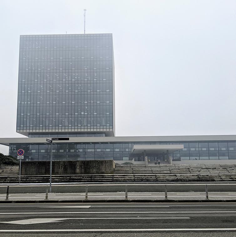 Kockica Building in Zagreb