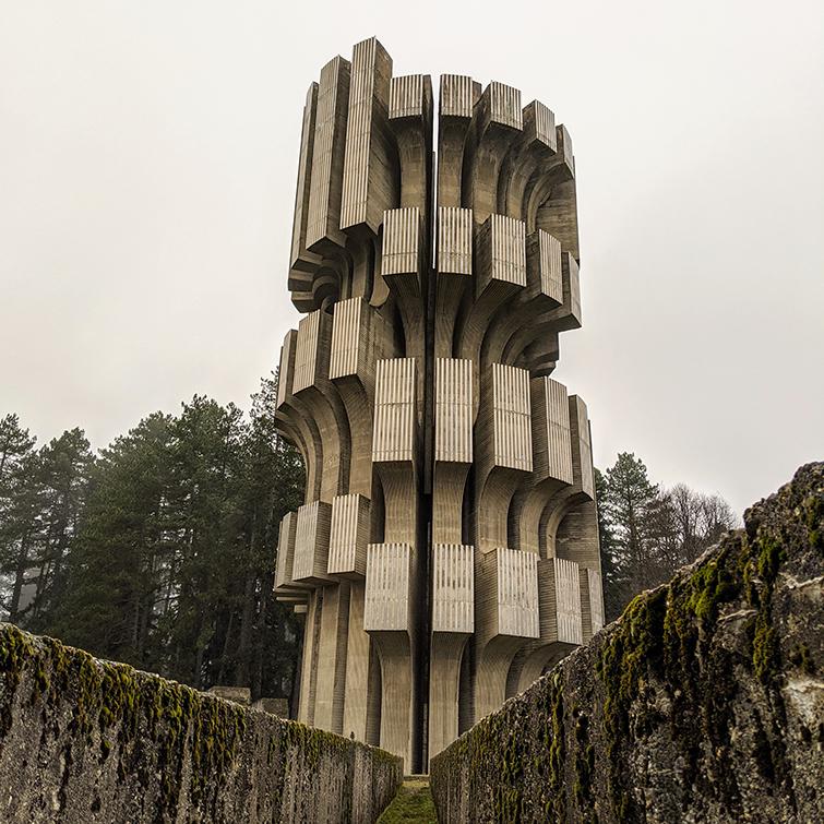 WWII monument at Kozara