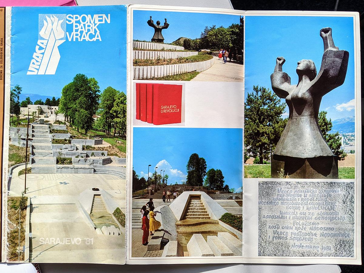 Memorial Park Vraca brochure