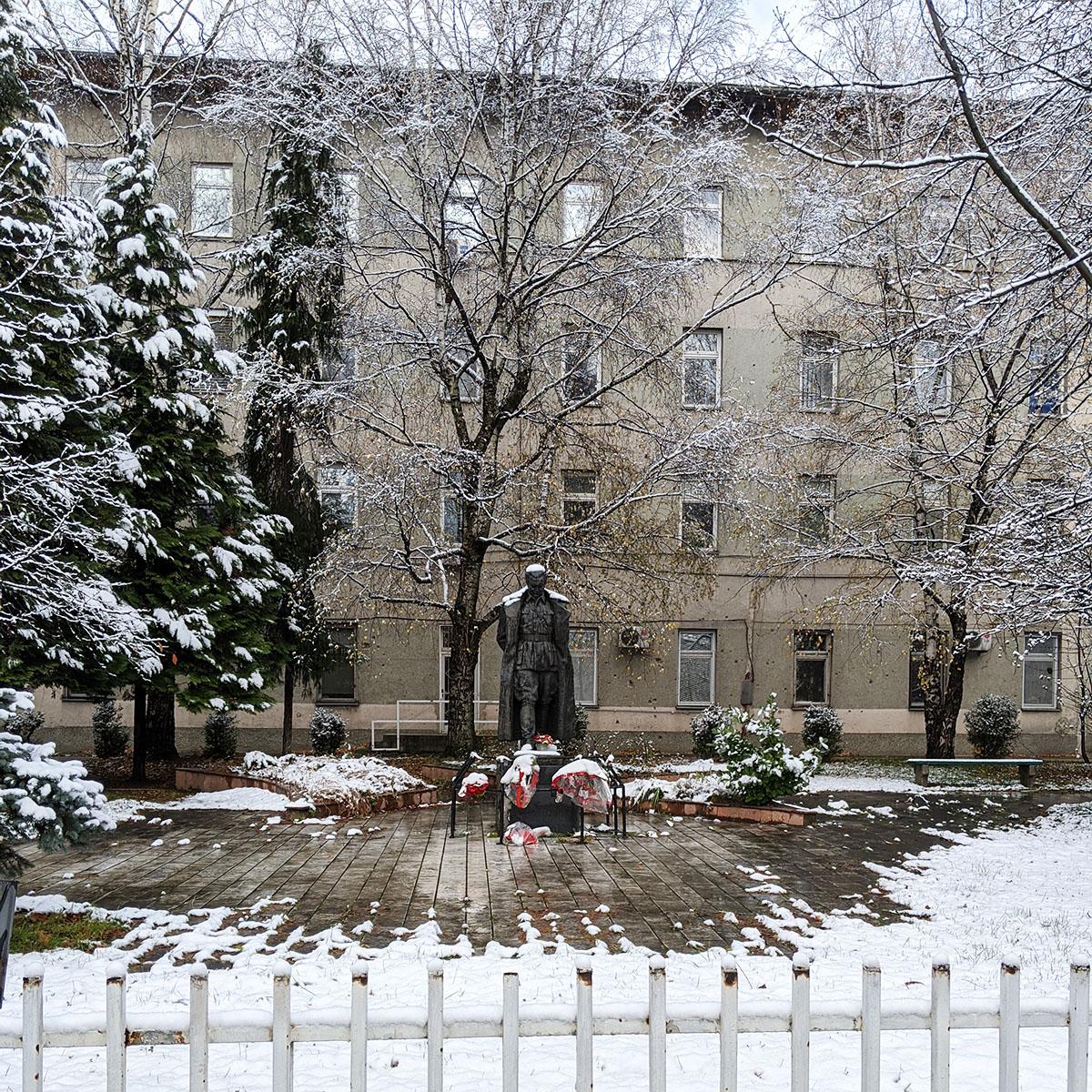 Tito Statue - University of Sarajevo