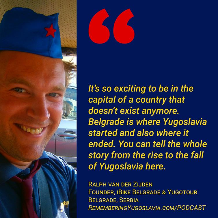Belgrade tour operators - Ralph van der Zijden