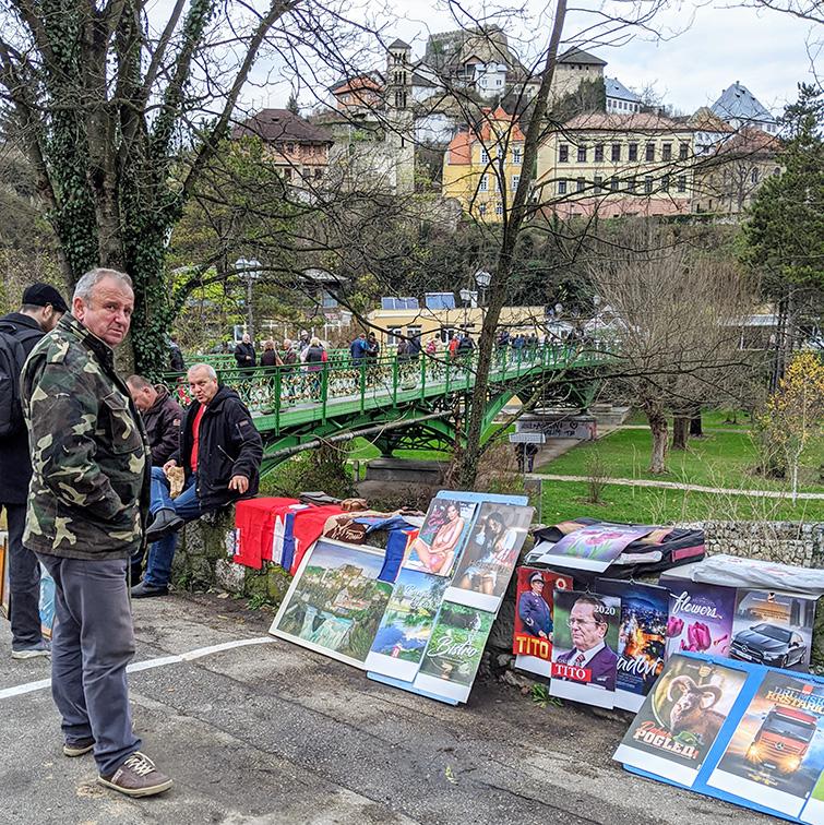 Souvenir Vendor at 2019 Days of AVNOJ