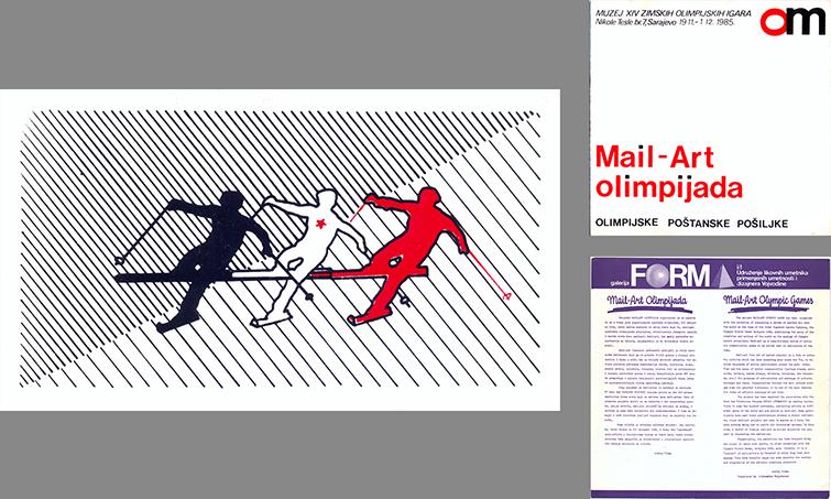 Yugoslav Mail Art - 1984 Olympics Exhibition