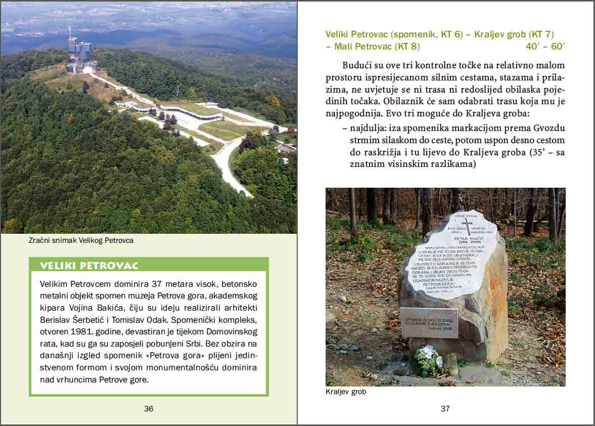 Petrova Gora Hiking Brochure