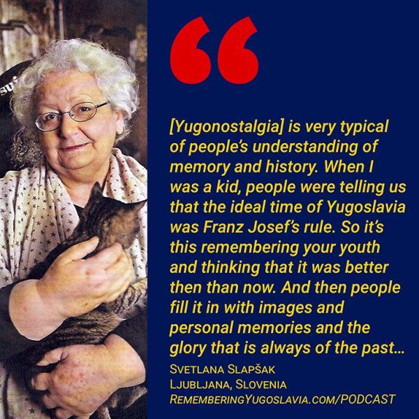 Svetlana Slapsak quote