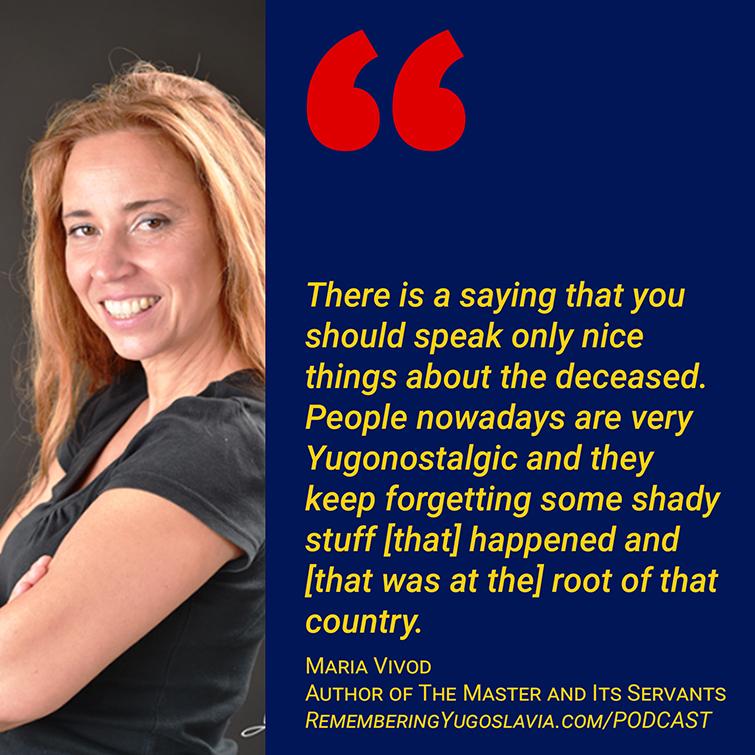 Maria Vivod quote on UDBA