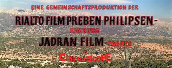 Winnetou film opening titles