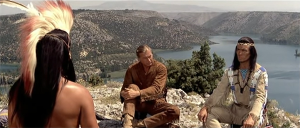 Winnetou and Old Shatterhand in Yugoslavia