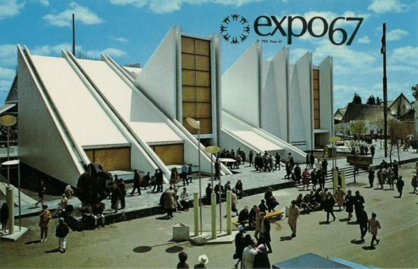 Expo67 Yugoslavia Pavilion