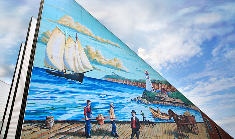 Provincial Seamens Museum Mural